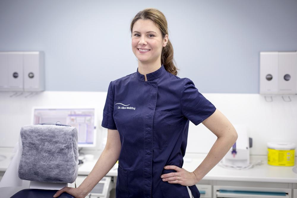 Zahnärztin Dr. Alice Weißflog